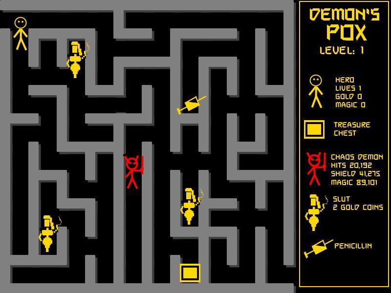 When computer games were much simpler...
